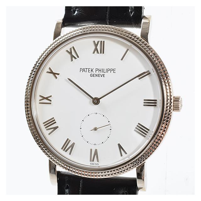 パテックフィリップ PATEKPHILIPPE カラトラバ 3919SG-001ボーイズ腕時計 ホワイトゴールド 中古 A品