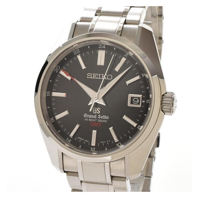 セイコー SEIKO ハイビート36000GMT SBGJ003メンズ腕時計 ステンレス 中古 A品