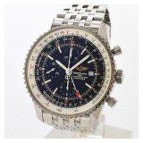 ブライトリング BREITLING ナビタイマー・ワールド A242B26NPメンズ腕時計 ステンレス 中古 A品