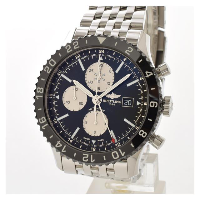 ブライトリング BREITLING クロノライナー 46mm Y241B10NPメンズ腕時計 ステンレス 中古 A品
