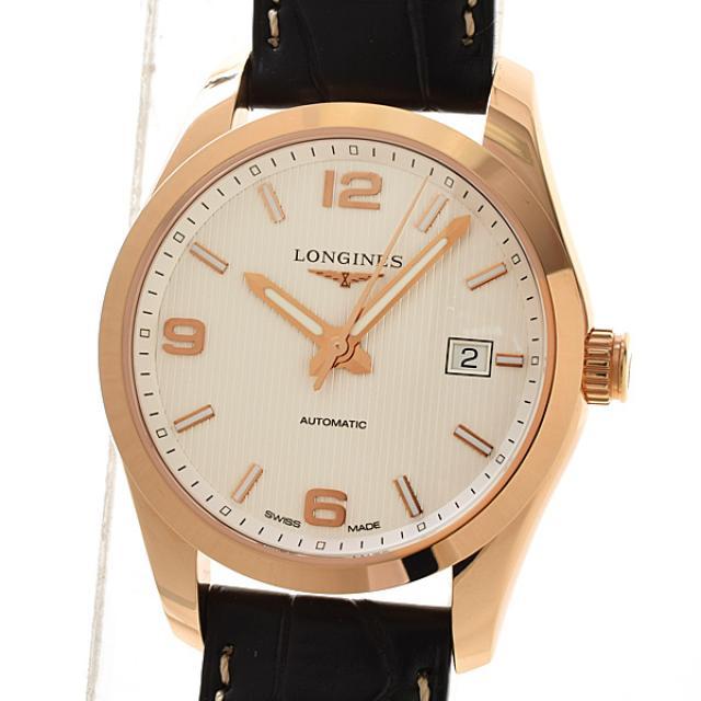 ロンジン LONGINES メンズ腕時計 L2.785.8.76.3メンズ腕時計 ピンクゴールド 未使用品