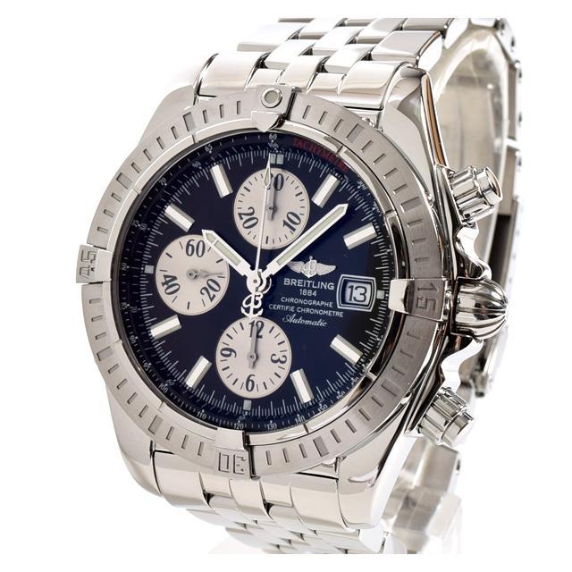 ブライトリング BREITLING クロノマットエボリューション A156B19PAメンズ腕時計 ステンレス 中古 A品