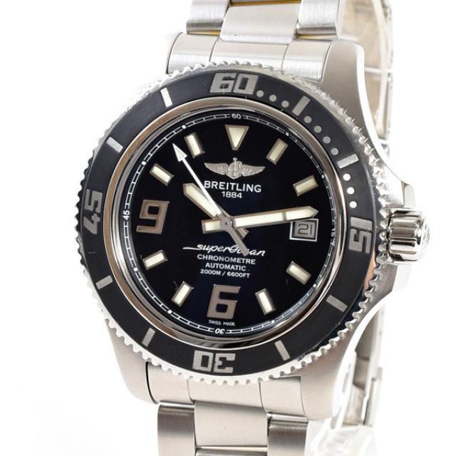 ライトリング BREITLING スーパーオーシャン44 A1739102/BA77メンズ腕時計 ステンレス 中古 A品