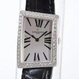 ヴァシュロンコンスタンタン VACHERON CONSTANTIN アシンメトリカル 375101000G-8835レディース腕時計 ホワイトゴールド 中古 A品