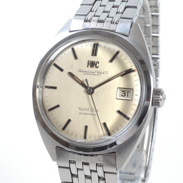 アイダブリュシー IWC ヨットクラブ メンズ腕時計 ステンレス 中古 A品