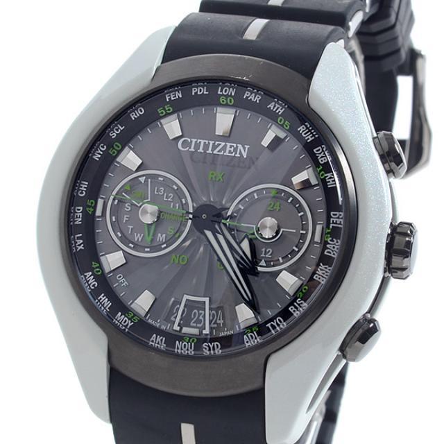 シチズン CITIZEN プロマスターサテライトウェーブエア CC1064-01Eメンズ腕時計 チタニウム 中古 A品