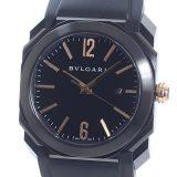 ブルガリ BVLGARI オクト ウルトラネロ BG0 41 BBSVDメンズ腕時計 ステンレスPVD加工 中古 A品