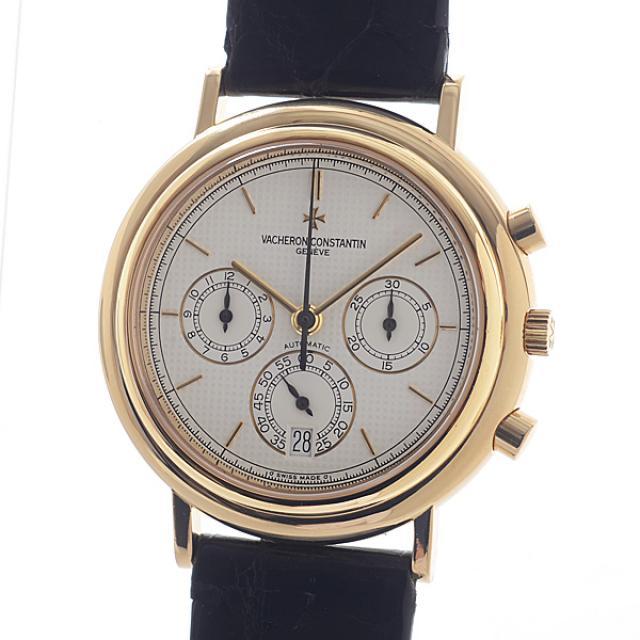 ヴァシュロンコンスタンタン VACHERON CONSTANTIN ヒストリカル クロノグラフ 49003/000J-03メンズ腕時計 イエローゴールド 中古 A品