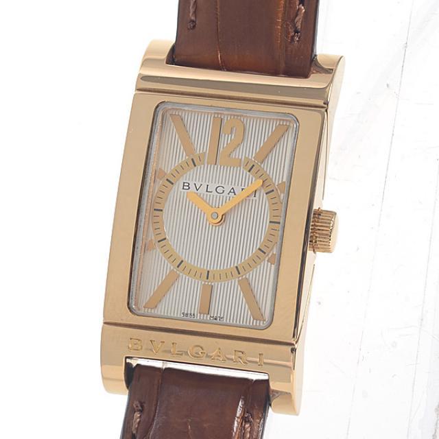 ブルガリ BVLGARI レッタンゴロ RT39Gレディース腕時計 イエローゴールド 中古 A品
