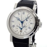 ブレゲ Breguet マリーン GMT 5857ST/12/5ZUメンズ腕時計 ステンレス 中古 A品