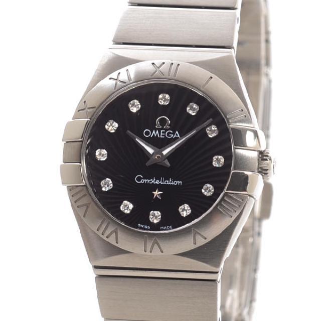 オメガ OMEGA コンステレーション ブラッシュ 123.10.24.60.51.001メンズ腕時計 ステンレス 中古 A品