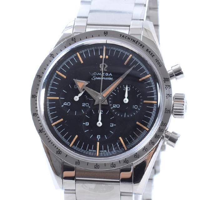 オメガ OMEGA 1957トリロジースピードマスタークロノグラフ 311.10.3930.01.001メンズ腕時計 ステンレス 未使用品