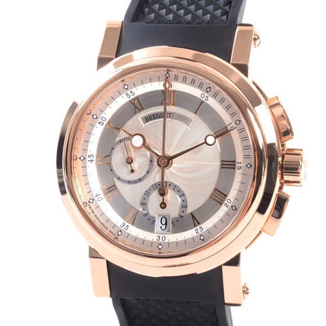 ブレゲ Breguet Marine 5827 5827BR/12/5ZUメンズ腕時計 ピンクゴールド 中古 A品
