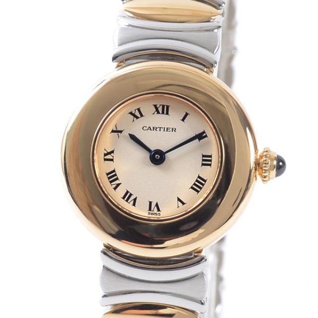 カルティエ Cartier コリゼ ベルエポック レディース腕時計 ステンレスxイエローゴールド 中古 A品