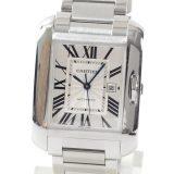 カルティエ Cartier タンク アングレーズ ウォッチLM W5310009メンズ腕時計 ステンレス 中古 A品