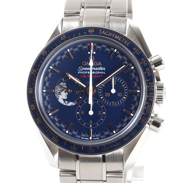 オメガ OMEGA スピードマスター ムーンウォッチ アニバーサリーリミテッドシリーズ 311.30.42.30.03.001メンズ腕時計 ステンレス 未使用品