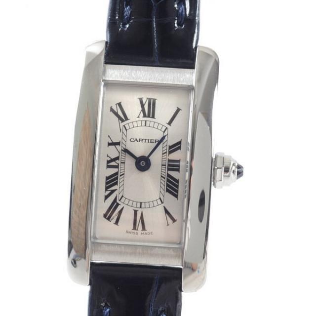 カルティエ Cartier ミニタンクアメリカン WSTA0032レディース腕時計 ステンレス 未使用品