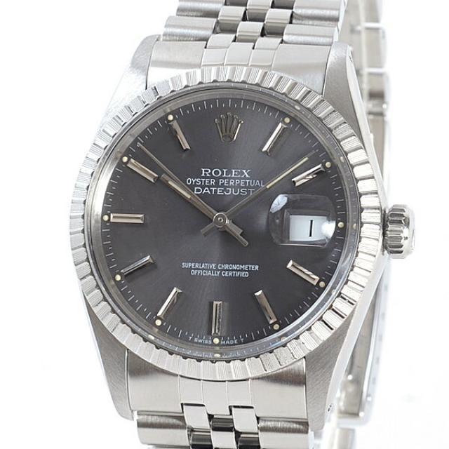 ロレックス ROLEX オイスターパーペチュアルデイトジャスト 16030メンズ腕時計 ステンレス 中古 A品