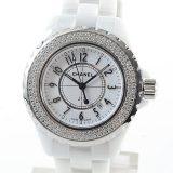 シャネル CHANEL J12 33mm H0967レディース腕時計 セラミック 中古 A品