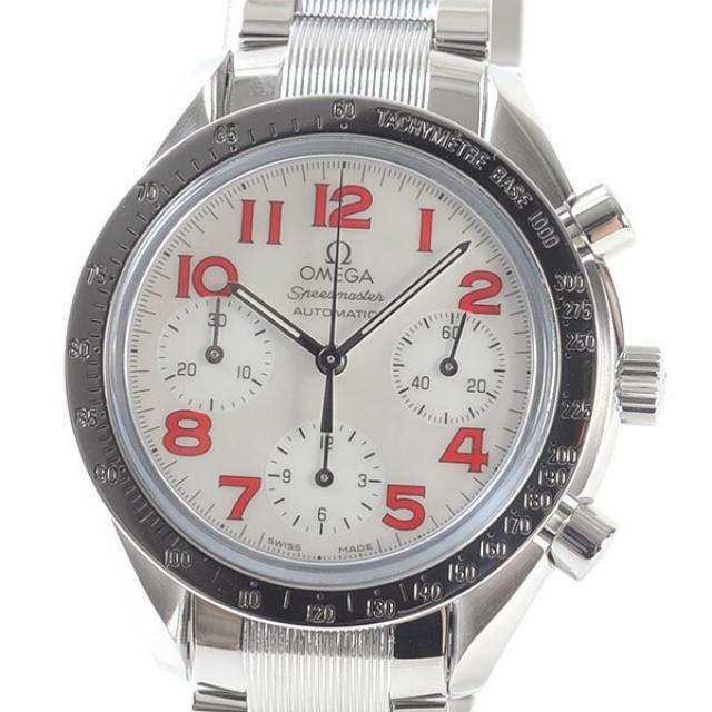 オメガ OMEGA スピードマスター リデュースド 3534-79メンズ腕時計 ステンレス 中古 A品