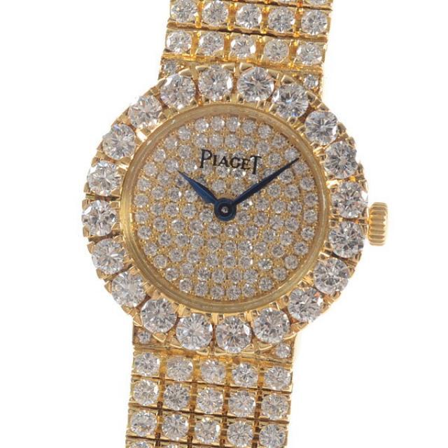 ピアジェ PIAGET ダンサー 8286 C626レディース腕時計 イエローゴールド 中古 A品