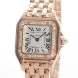 カルティエ Cartier パンテール ドゥ カルティエSM WJPN0008レディース腕時計 ピンクゴールド 中古 A品