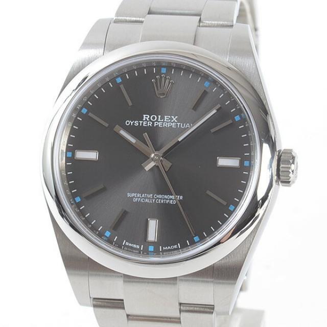 ロレックス ROLEX オイスターパーペチュアル 114300メンズ腕時計 ステンレス 中古 A品