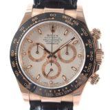 ロレックス ROLEX デイトナ 116515LNメンズ腕時計 ピンクゴールドxセラミック 中古 A品