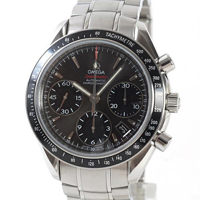 オメガ OMEGA スピードマスター オートマティック 323.30.40.40.06.001メンズ腕時計 ステンレス 中古 A品