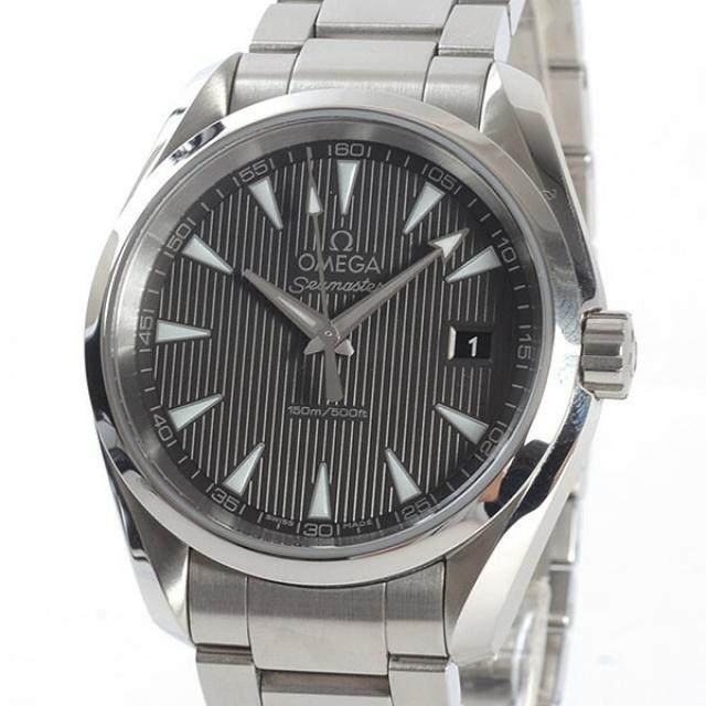 オメガ OMEGA シーマスターアクアテラ 231.10.39.60.06.001メンズ腕時計 ステンレス 中古 A品