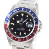 ロレックス ROLEX GMTマスター 16700BL/RDメンズ腕時計 ステンレス 中古 A品