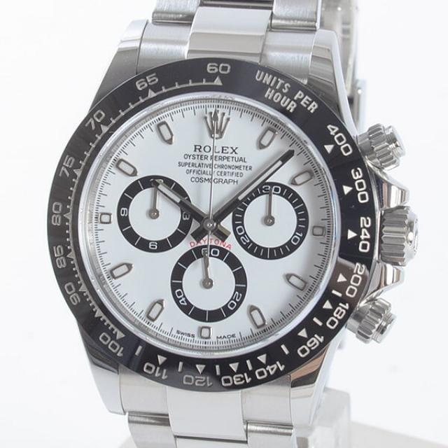 ロレックス ROLEX デイトナ 116500LNメンズ腕時計 ステンレスxセラミック 中古 A品