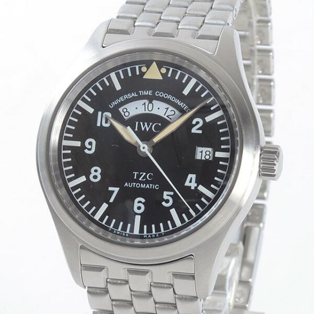 アイダブリュシー IWC フリーガーUTC IW325102メンズ腕時計 ステンレス 中古 A品