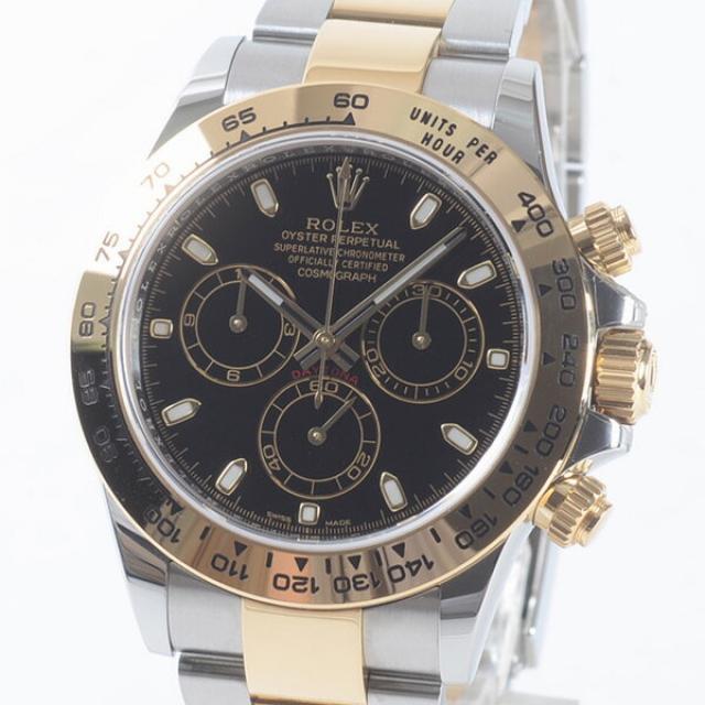 ロレックス ROLEX コスモグラフ デイトナ 116503メンズ腕時計 ステンレスxイエローゴールド 中古 A品