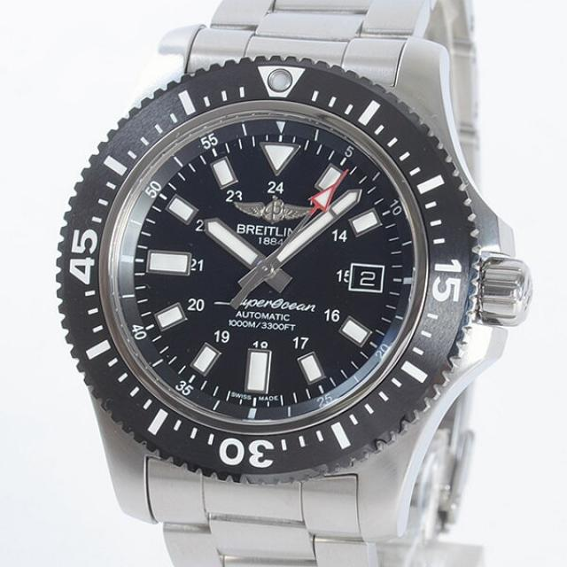 ブライトリング BREITLING スーパーオーシャン44 スペシャル Y192B45PSSメンズ腕時計 ステンレス 中古 A品