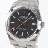 ロレックス ROLEX ミルガウス 116400メンズ腕時計 ステンレス 未使用品