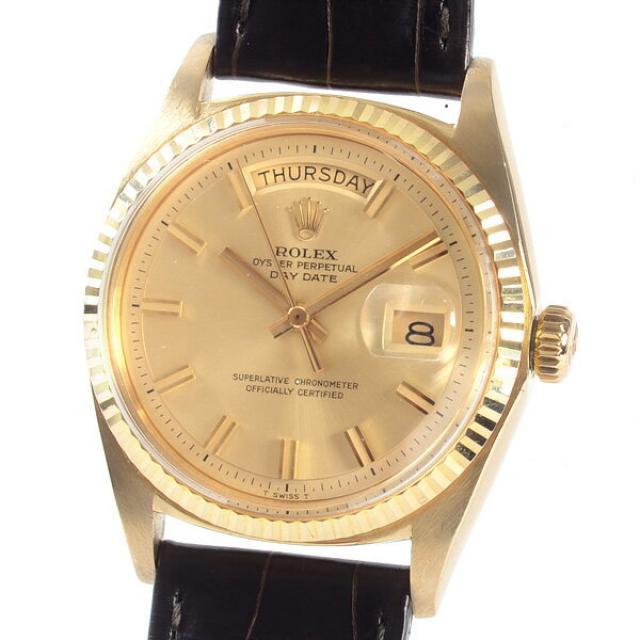 ロレックス ROLEX デイデイト 1803ボーイズ腕時計 イエローゴールド 中古 A品