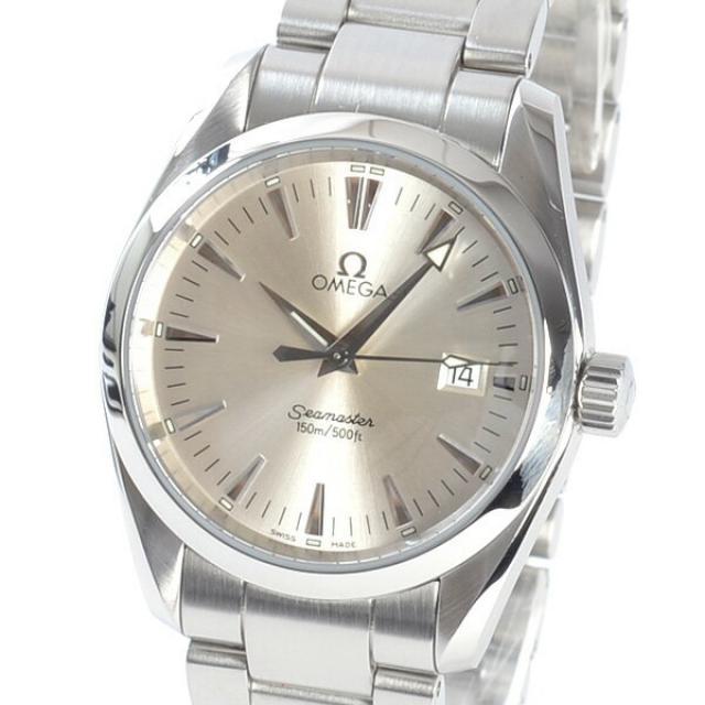 オメガ OMEGA シーマスターアクアテラMM 2518-30 メンズ腕時計 ステンレス 中古 A品