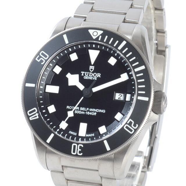 チューダー/チュードル TUDOR ペラゴス 25500TNメンズ腕時計 チタニウム 中古 A品