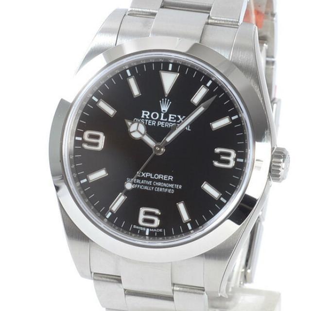 ロレックス ROLEX エクスプローラー1 214270メンズ腕時計 ステンレス 未使用品