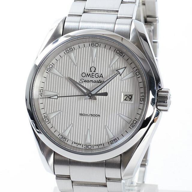オメガ OMEGA シーマスターアクアテラ 231.10.39.60.02.001メンズ腕時計 ステンレス 中古 A品