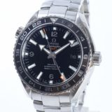 オメガ OMEGA シーマスター プラネットオーシャン GMT 232.30.44.22.01.001メンズ腕時計 ステンレス 未使用品