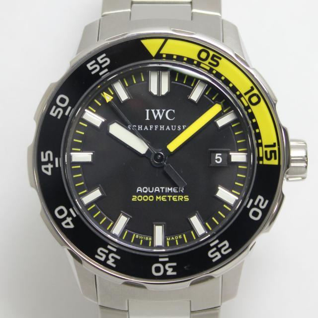 IWC アクアタイマー IW356801 中古 ランクA 返品可 質屋出品 送料無料