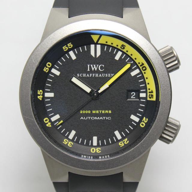 IWC アクアタイマー2000 IW353804 中古 ランクA 返品可 質屋出品 送料無料