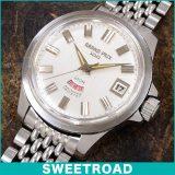 ORIENT オリエント GRAND PRIX 100/グランプリ100 REF.T19420 SWIMMER 100M(スイマー)/希少!リューズガード付き/ペガサスメダリオン 自動巻 1965年販売開始 w-10600 アンティーク 中古