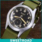 BUREN ビューレン Grandprix/グランプリ ブロードアロー/イギリス陸軍用時計 ミリタリーウォッチ オリジナルアラビアダイヤル/スモールセコンド 手巻き 1940年代製 w-13333 アンティーク 中古
