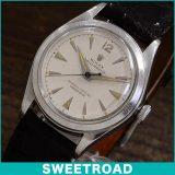 ROLEX ロレックス ARバブルバック Ref.5006 「シルバーダイヤル」自動巻き 1950年代 w-15253 アンティーク 中古