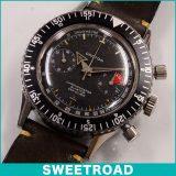 CROTON クロトン CHRONO MASTER/クロノマスター AVIATOR/アビエーター SEA DIVER/シーダイバー オリジナルダイヤル Cal.バルジュー92 /手巻き 1960年代 w-15262 アンティーク 中古