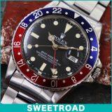 ROLEX ロレックス GMT-MASTER GMTマスター Ref. 16750 オリジナルダイヤル/青赤ベゼル/ロレックス純正巻ブレス Cal. 3075 自動巻き 1981年製 w-16087 アンティーク 中古