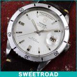 TUDOR チュードル DATE-DAY/デイトデイ Ref.7020/0 回転ベゼル オリジナルダイヤル メーカー修理見積もり書・BOX付き 1969年 自動巻 w-16319 中古